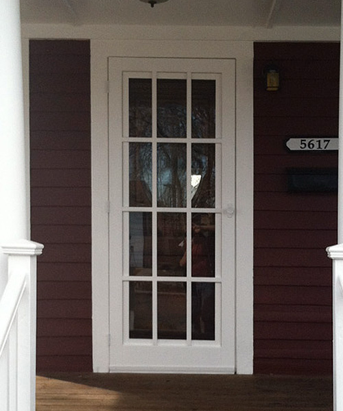 Model 3600-T Traditional Combination Wood Screen Storm Door