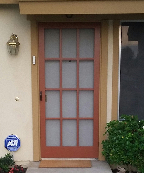 Model 3600-T Traditional Wood Screen Door