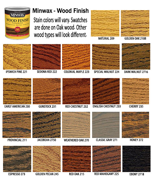 Wood Screen Door Minwax Stain Colors