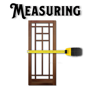 How to Measure for a Wood Screen Door