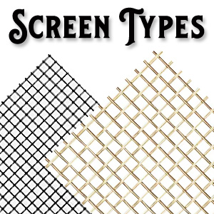 Wood Screen Door Screen Types