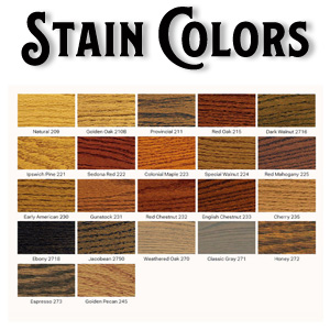 Wood Screen Storm Door Minwax Stain Colors